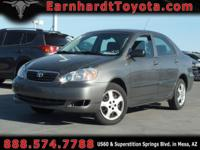 We are happy to offer you this 2007 Toyota Corolla CE