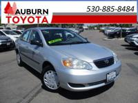 LOW MILEAGE, FUEL EFFICIENT, ONE OWNER! This great 2007