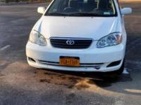 2007 Toyota Corolla LE 4 Door Car with virtually 73,000