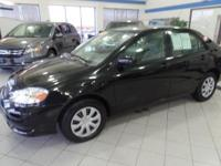 This  2007 Toyota Corolla LE is powered by Toyota's