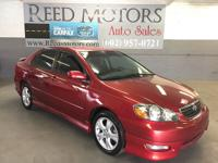 2007 toyota corolla s - one owner / no accidents /