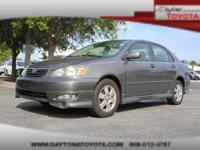 2007 Toyota Corolla S, Absolutely clean, well-priced