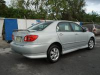 Options:  2007 Toyota Corolla S|S 4Dr Sedan (1.8L I4
