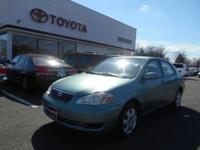 2007 COROLLA LE - GREEN - WELL MAINTAINED Our Location