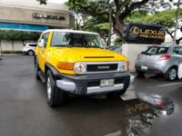 Check out this gently used 2007 Toyota FJ Cruiser we