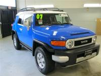 This 2007 FJ Cruiser comes with a w/ 100% CARFAX