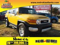 This 2007 Toyota FJ Cruiser Base is a great option for