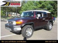 This 2007 Toyota FJ Cruiser will sell fast -4X4 4WD -V6