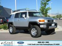 Come see this reliable 2007 Toyota FJ Cruiser . White