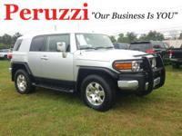 Silver 2007 Toyota FJ Cruiser 4WD 5-Speed Automatic