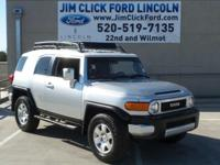 This 2007 Toyota FJ Cruiser 4DR 4WD AT, has a great