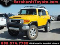 We are happy to offer you this 2007 Toyota FJ Cruiser