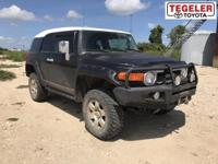 One Owner!! 2007 Toyota FJ Cruiser 4WD 5-Speed