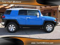 Options:  2007 Toyota Fj Cruiser 4Dr 4X4|There's A