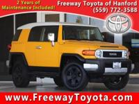 CARFAX One-Owner. 2007 Toyota FJ Cruiser 4WD 5-Speed