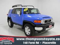 CarFax ONE-OWNER.....2007 Toyota FJ Cruiser 4WD