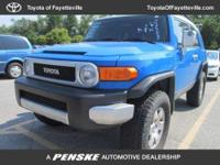 FJ Cruiser trim. CD Player, 4x4, Edmunds.com explains