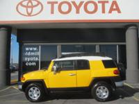 TOYOTA CERTIFIED JF CRUISER, ONLY 27,000 ACTUAL MILES,