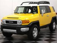 2007 TOYOTA FJ CRUISER 4WD SUV with an automatic