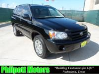 Options Included: N/A2007 Toyota Highlander, black with