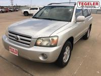 Silver 2007 Toyota Highlander FWD 4-Speed Automatic