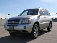 Options:  2007 Toyota Highlander Hybrid Base 4Dr