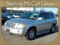 Sterling McCall Lexus presents this CARFAX 1 Owner 2007