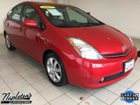 Recent Arrival! 2007 Toyota Prius in Red, 1.5L I4 SMPI