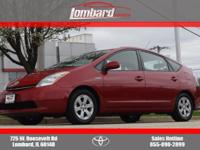 Options:  2007 Toyota Prius|Barcelona Red