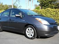Excellent Gas Saver, 2007 Toyota Prius Hatchback, Gray