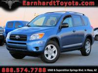 We are happy to offer you this 1-OWNER 2007 TOYOTA RAV4