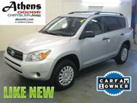 Options Included: N/A2007 MODEL! RAV4! ECONOMICAL