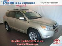 Model: RAV4 Make: Toyota Year: 2007 Type: Sport