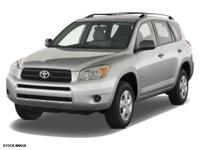 2007 Blue Toyota RAV4 Limited USB Charging Port, Cruise
