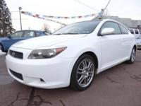 This 2007 Toyota Scion tC base is stylish, reliable,