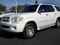 2007 Toyota Sequoia Limited 104K Mi.--------Artic Frost