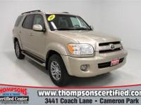 This 2007 Toyota Sequoia is a capable and comfortable