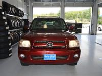 Options:  2007 Toyota Sequoia Sr5 V8|Red|Here At The
