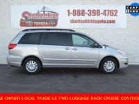 Options:  2007 Toyota Sienna|One Owner And Local Trade.