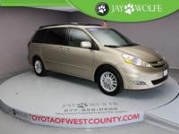 New Price! CARFAX One-Owner. 2007 Toyota Sienna XLE in
