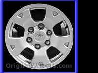 "2007 toyota tacoma trd 16"" aluminum wheels and tires"