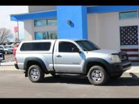 Beautiful 2007 Toyota Tacoma! Four cylinder engine with