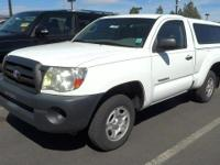 Look at this 2007 Toyota Tacoma Base. Its Automatic