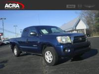 2007 Toyota Tacoma, key features include:  Keyless