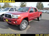 FRESH LOCAL TRADE.THE EVER POPULAR TOYOTA TACOMA CREW
