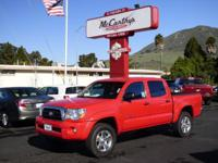 Options:  2007 Toyota Tacoma Prerunner|Clean Carfax.