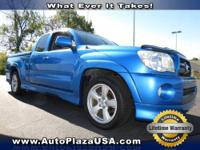 You will find that this 2007 Toyota Tacoma has features