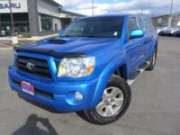 Options:  2007 Toyota Tacoma Base|Blue|6 Speakers|Am/Fm
