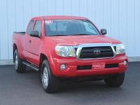Options:  2007 Toyota Tacoma Base|Red|Full Exterior &