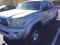 From work to weekends, this Silver 2007 Toyota Tacoma